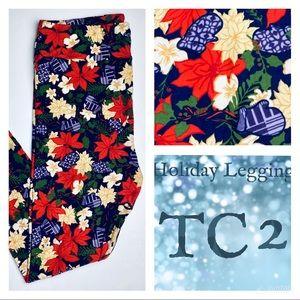 LuLaRoe TC2 Adult 18+ Holiday Leggings Mittens